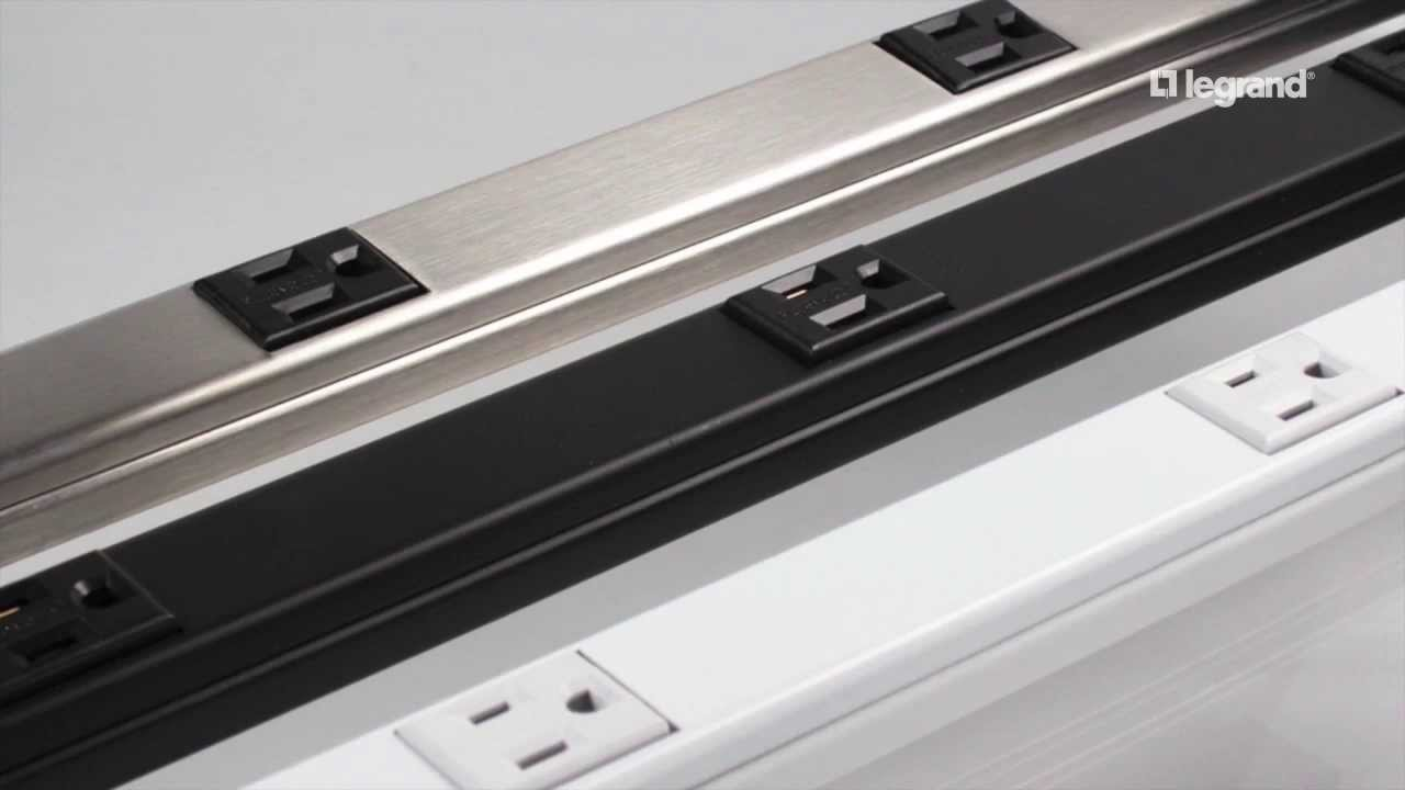 Electric strip recepticles