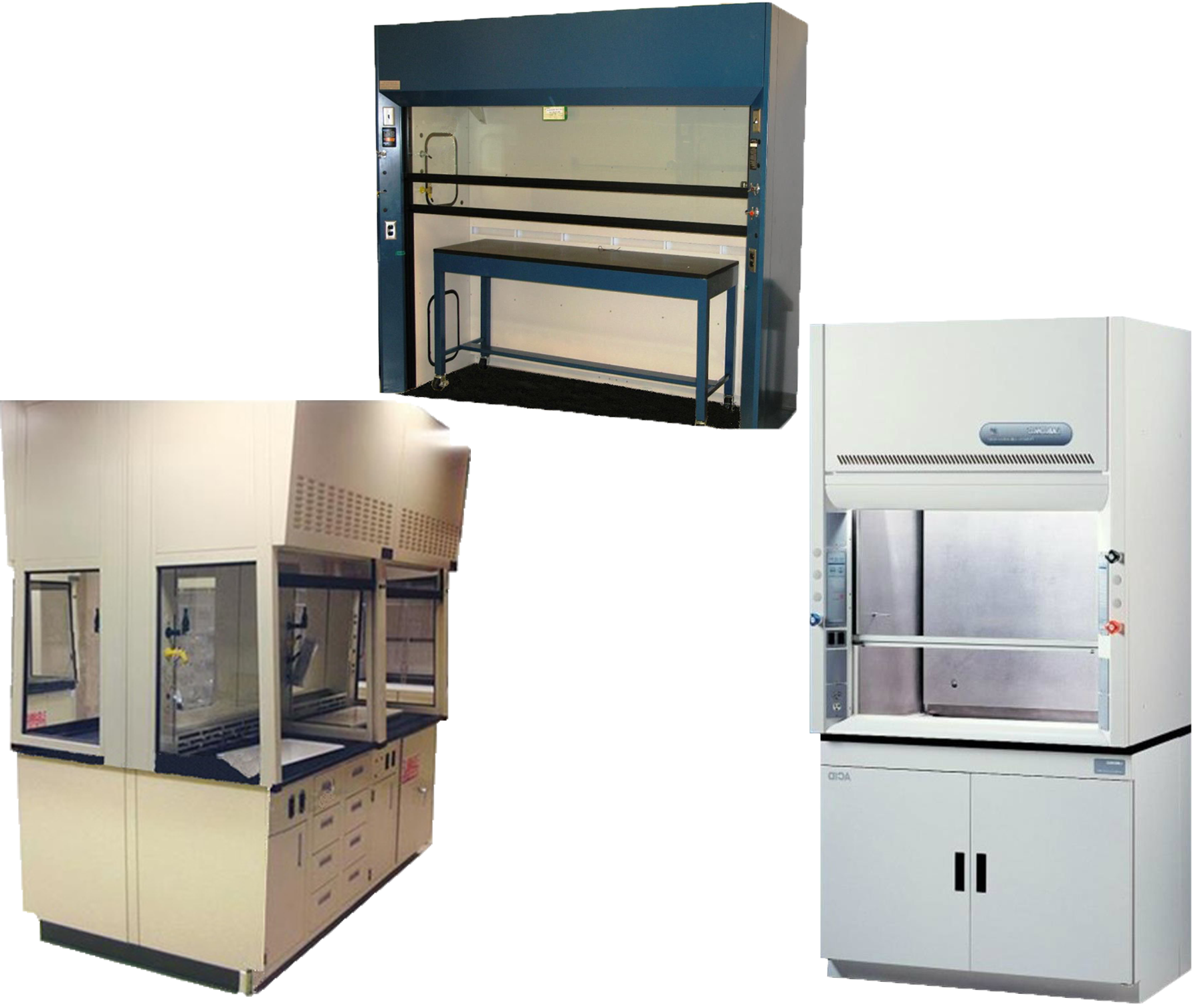 Laboratory Furniture · Fume Hoods