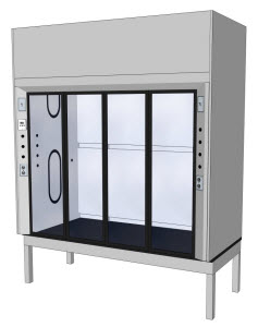 LOC Scientific Low bench Fume Hood