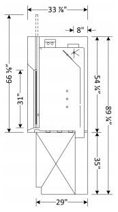 Perchloric Acid Fume Hood Dimensions