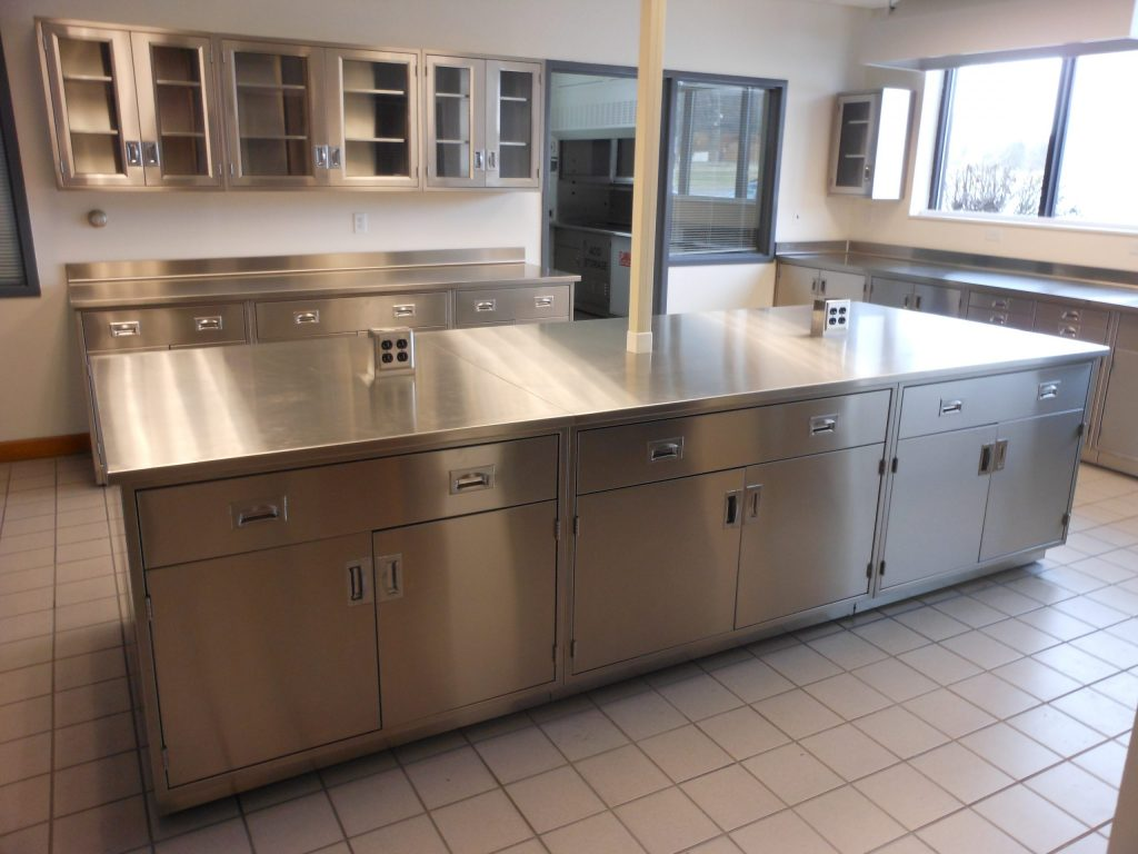 Stainless Steel Wall Amp Base Lab Cabinets Loc Scientific