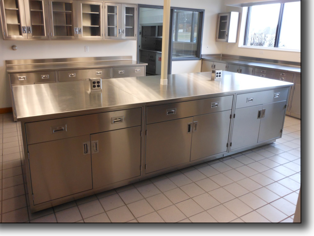 Stainless Steel Cabinets · Polypropylene Laboratory Furniture
