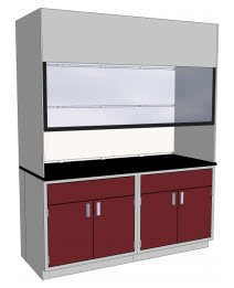 Thin Wall Fume Hoods